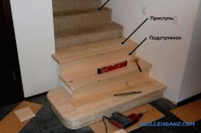 Cómo enfundar una escalera de metal con madera: matices, diagramas (video)