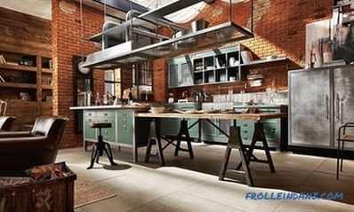 Cocina tipo loft - 100 ideas interiores con fotos